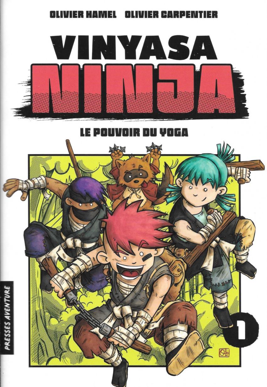 Couverture de Vinyasa Ninja -1- Le pouvoir du yoga