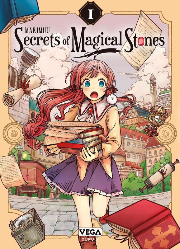 Couverture de Secrets of magical stones -1- Tome 1