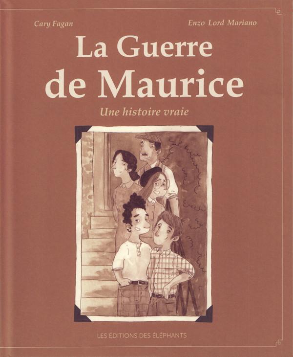 Couverture de La guerre de Maurice