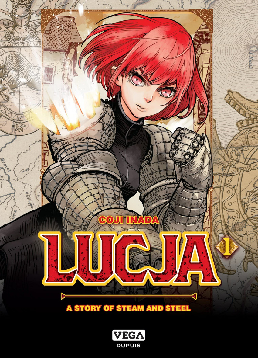 Couverture de Lucja : a story of steam and steel -1- Tome 1