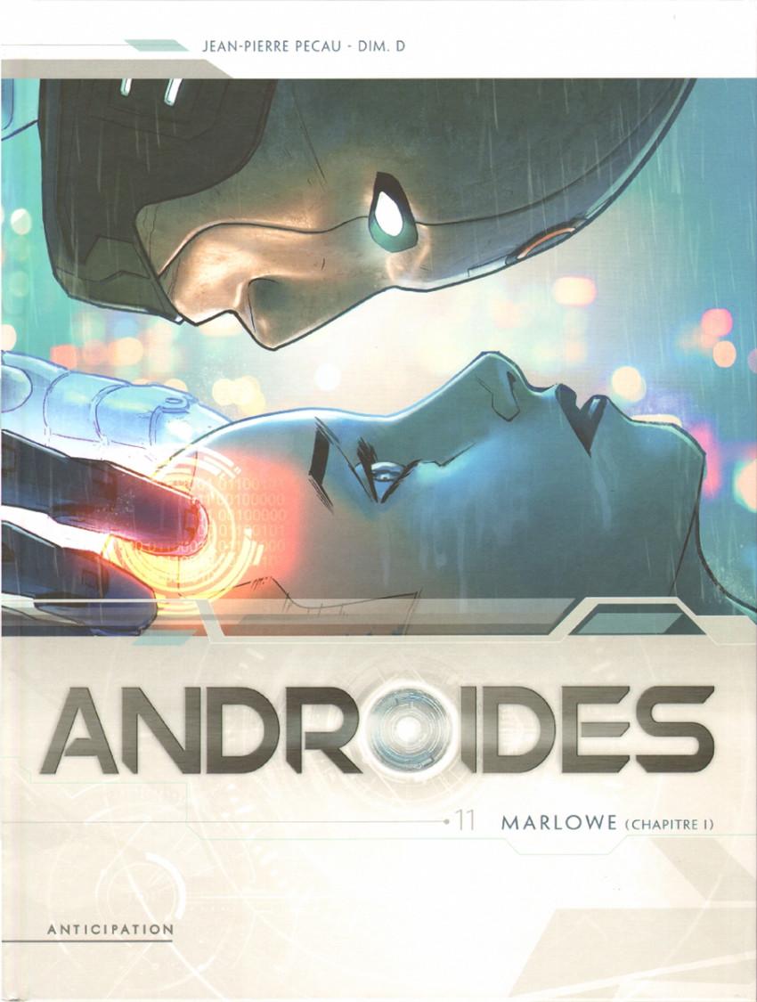 Couverture de Androïdes (Soleil) -11- Marlowe (Chapitre I)
