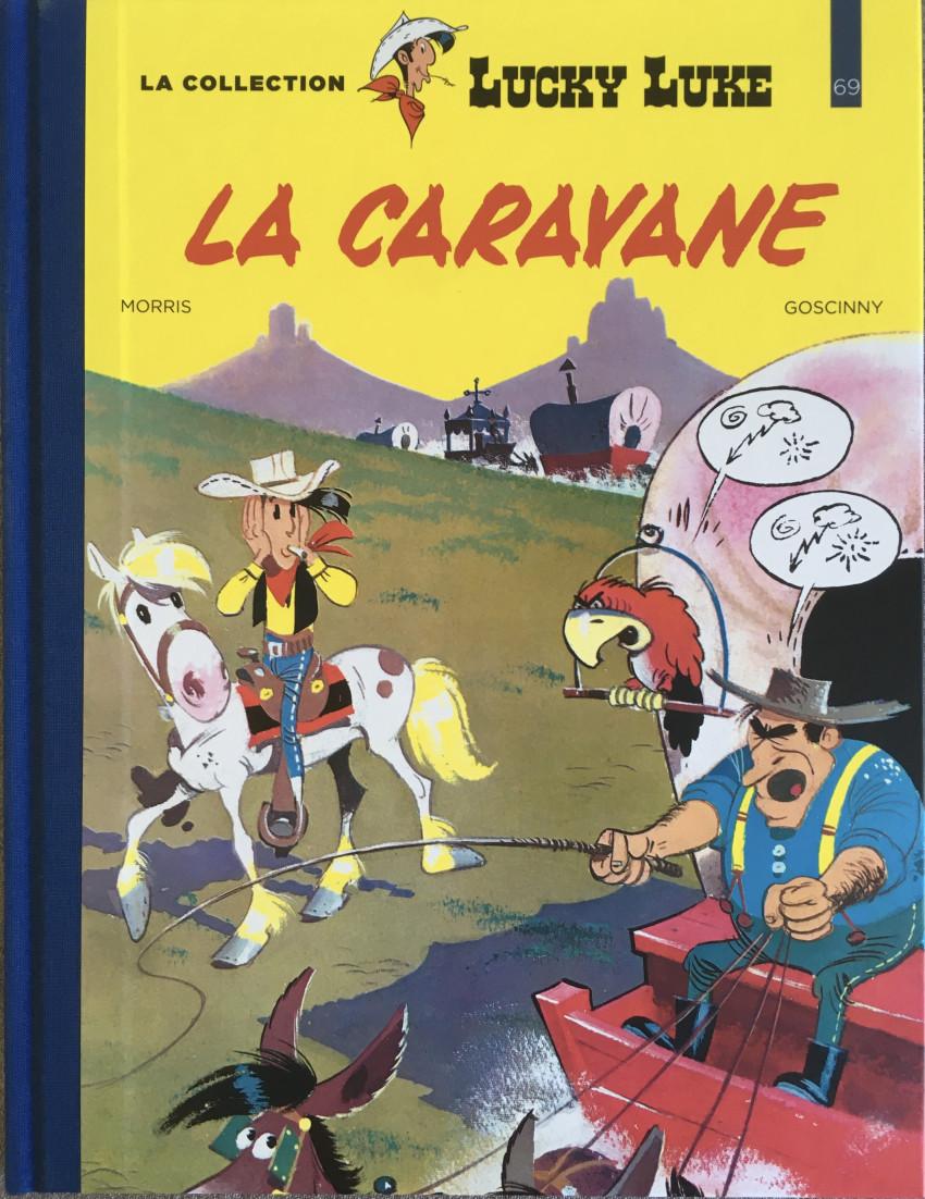 Couverture de Lucky Luke - La collection (Hachette 2018) -6924- La caravane