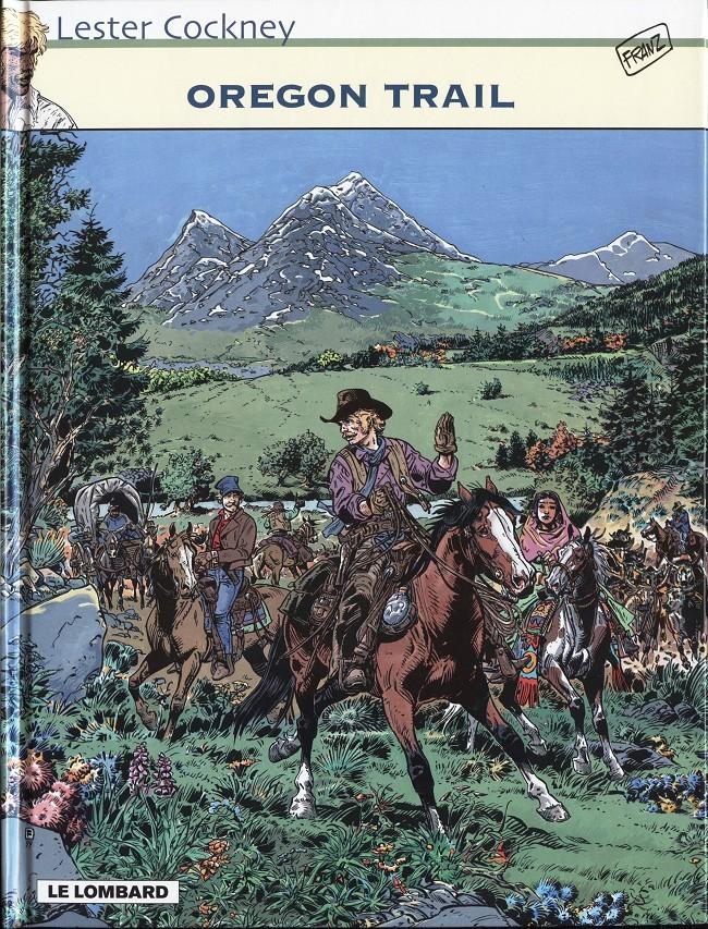 Couverture de Lester Cockney -8- Oregon Trail