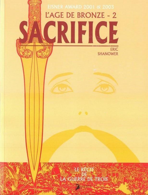 Couverture de L'Âge de bronze -2- Sacrifice