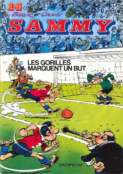 Couverture de Sammy -14- Les gorilles marquent un but