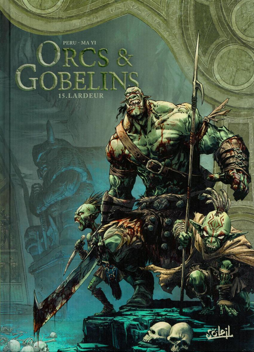Couverture de Orcs & Gobelins -15- Lardeur