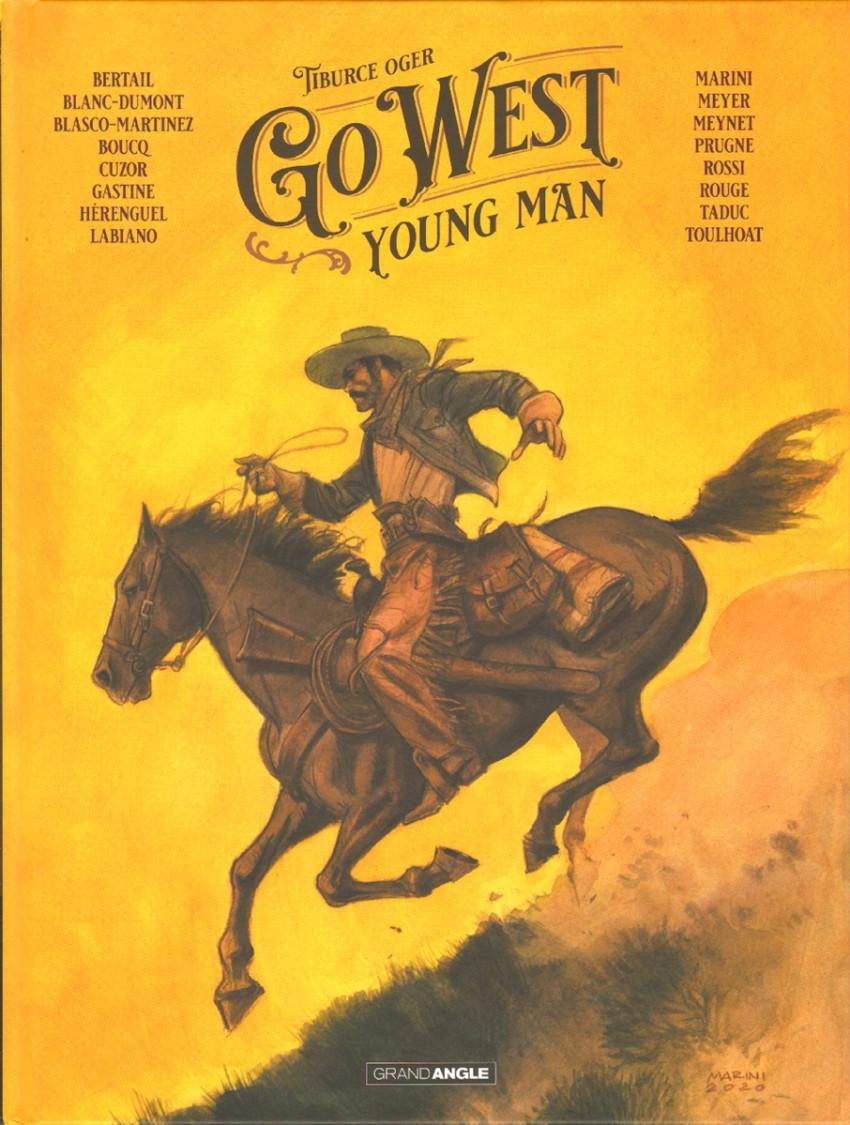 Couverture de Go West Young Man