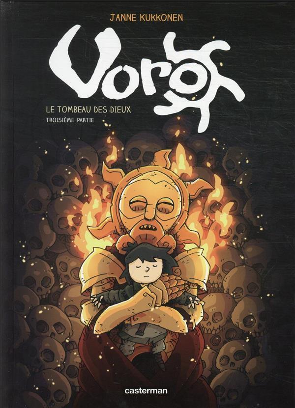 Couverture de Voro -9- Le Tombeau des dieux - Troisième partie