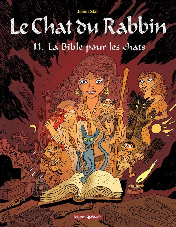 Couverture de Le chat du Rabbin -11- La bible pour les chats