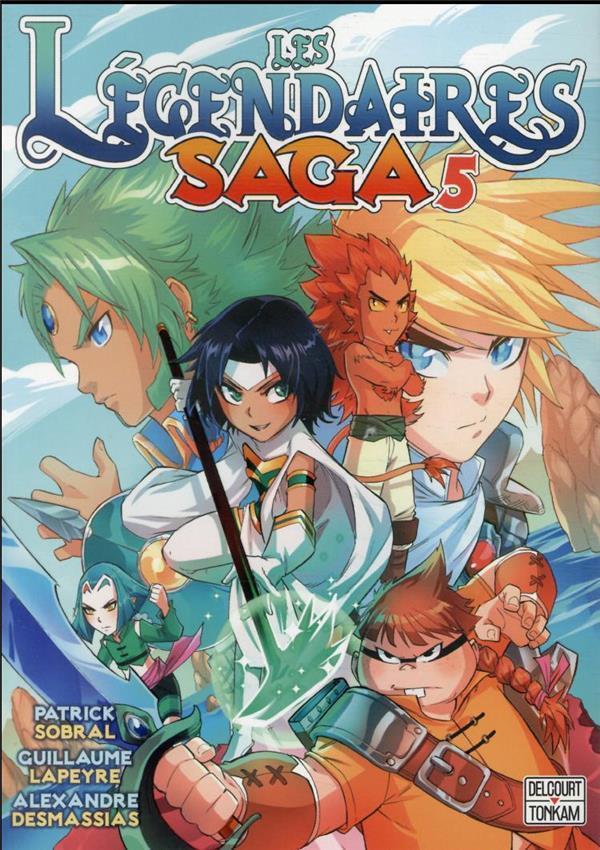 Couverture de Les légendaires - Saga  -5- Tome 5