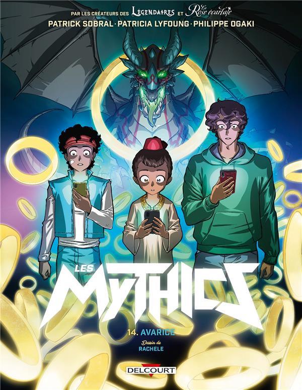 Couverture de Les mythics -14- Avarice