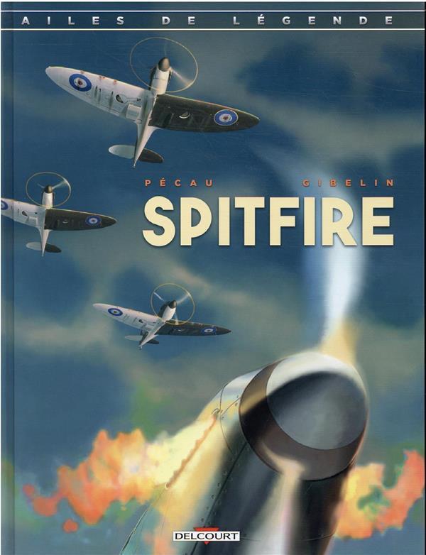 Couverture de Ailes de légende -1- Spitfire