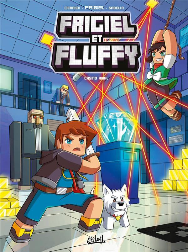Couverture de Frigiel et Fluffy -11- Casino rival