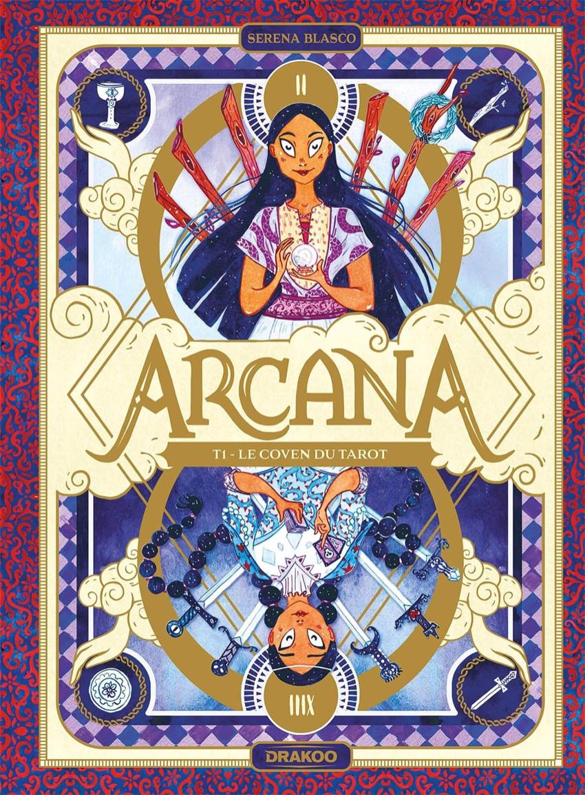 Couverture de Arcana (Blasco) -1- Le Coven du Tarot