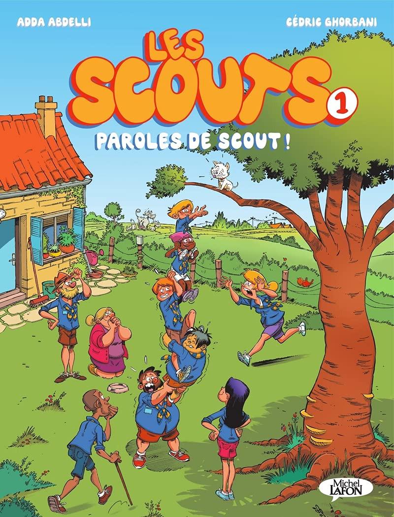 Couverture de Les scouts -1- Paroles de scout !