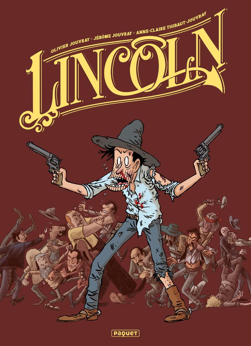 Couverture de Lincoln -INT1- Intégrale 1