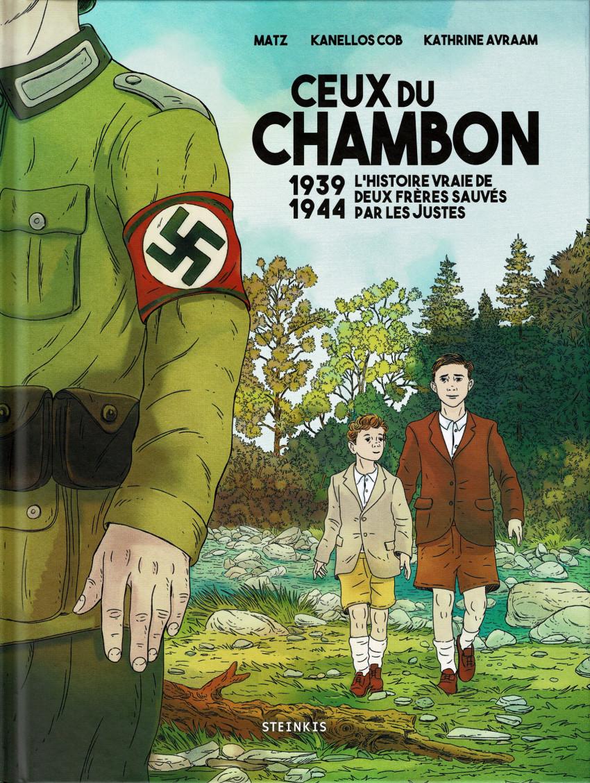 Couverture de Ceux du Chambon - 1939-1944 : l'histoire vraie de deux frères sauvés par les Justes
