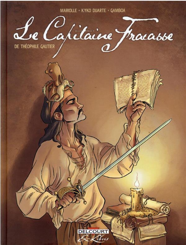 Couverture de Le capitaine Fracasse (Duarte/Mariolle) -INT- Le capitaine Fracasse de Théophile Gautier