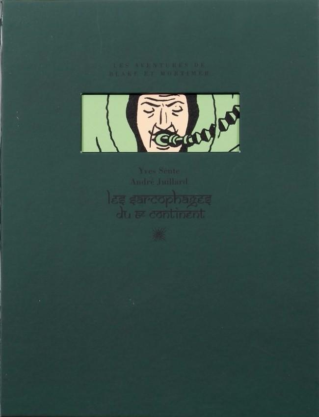 Couverture de Blake et Mortimer -INT4TT- Les Sarcophages du 6e continent