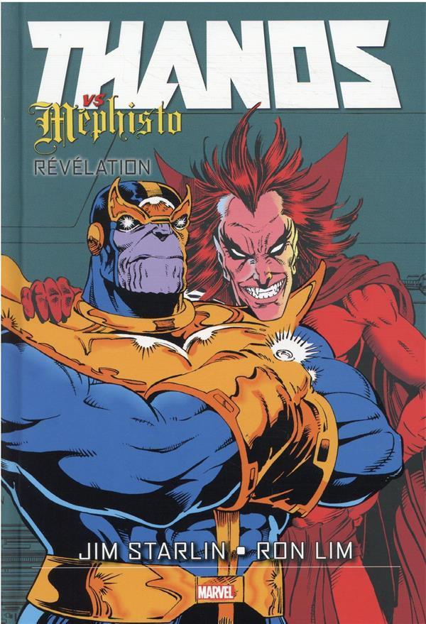 Couverture de Thanos vs Silver Surfer -2- Thanos vs Mephisto : Révelation