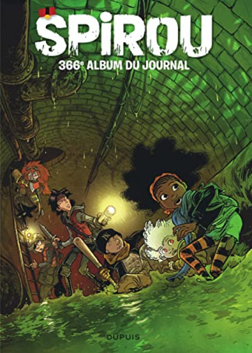 Couverture de (Recueil) Spirou (Album du journal) -366- Spirou album du journal