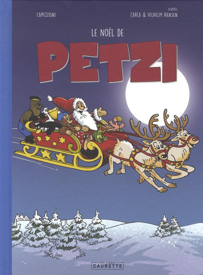Couverture de Petzi (4e Série - Chours/Caurette) -3- Le Noël de Petzi