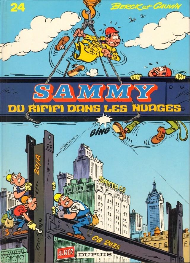 Couverture de Sammy -24- Du rififi dans les nuages