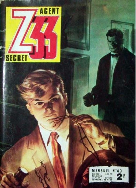 Couverture de Z33 agent secret (Imperia) -43- Tome 43