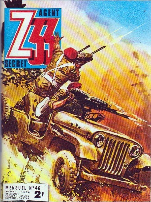 Couverture de Z33 agent secret (Imperia) -46- Tome 46