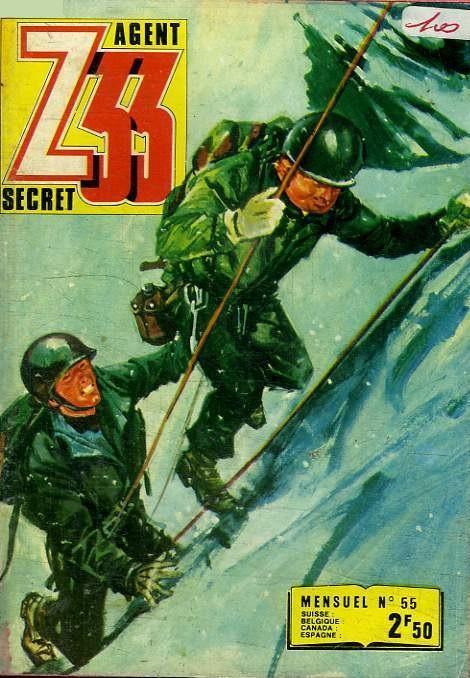 Couverture de Z33 agent secret (Imperia) -55- Les otages du ciel