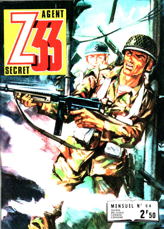 Couverture de Z33 agent secret (Imperia) -64- Magie blanche