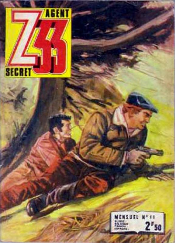 Couverture de Z33 agent secret (Imperia) -66- Le hibou noir