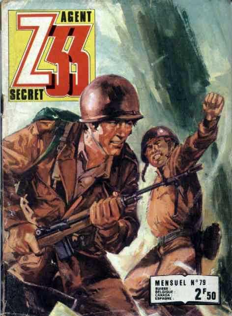Couverture de Z33 agent secret (Imperia) -79- Le pont de Wuphausen