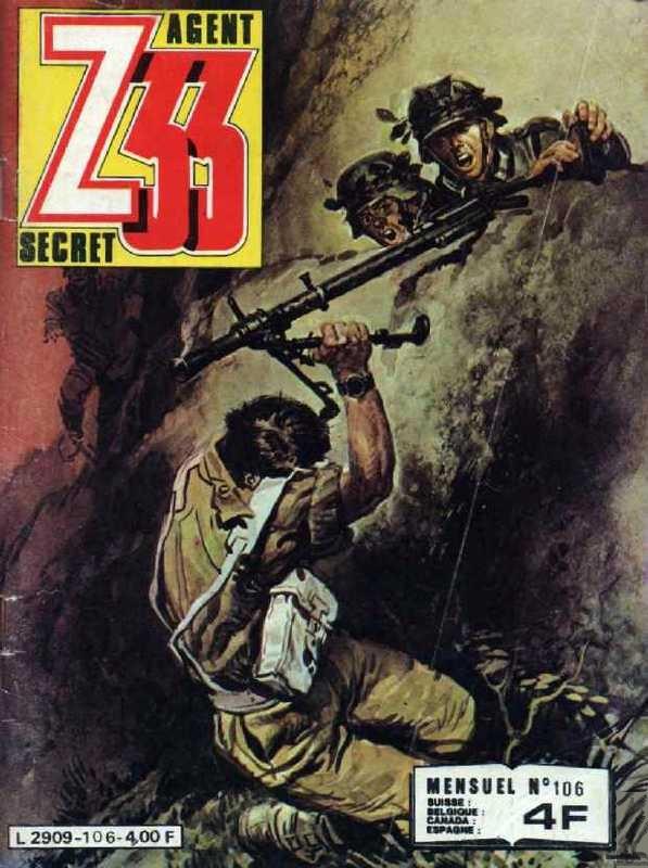 Couverture de Z33 agent secret (Imperia) -106- L'étrange jugement