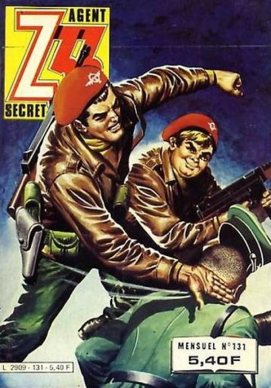 Couverture de Z33 agent secret (Imperia) -131- La marionnette rouge