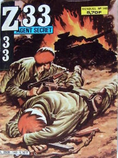 Couverture de Z33 agent secret (Imperia) -140- La valse des rats