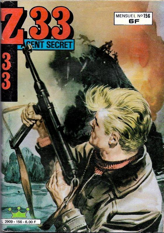 Couverture de Z33 agent secret (Imperia) -156- Une folle nuit ...