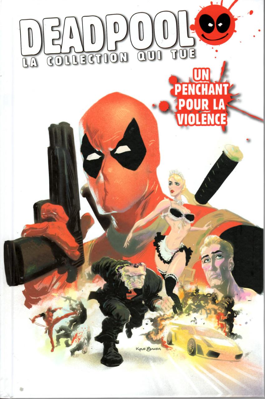 Couverture de Deadpool - La collection qui tue (Hachette) -6048- Un penchant pour la violence