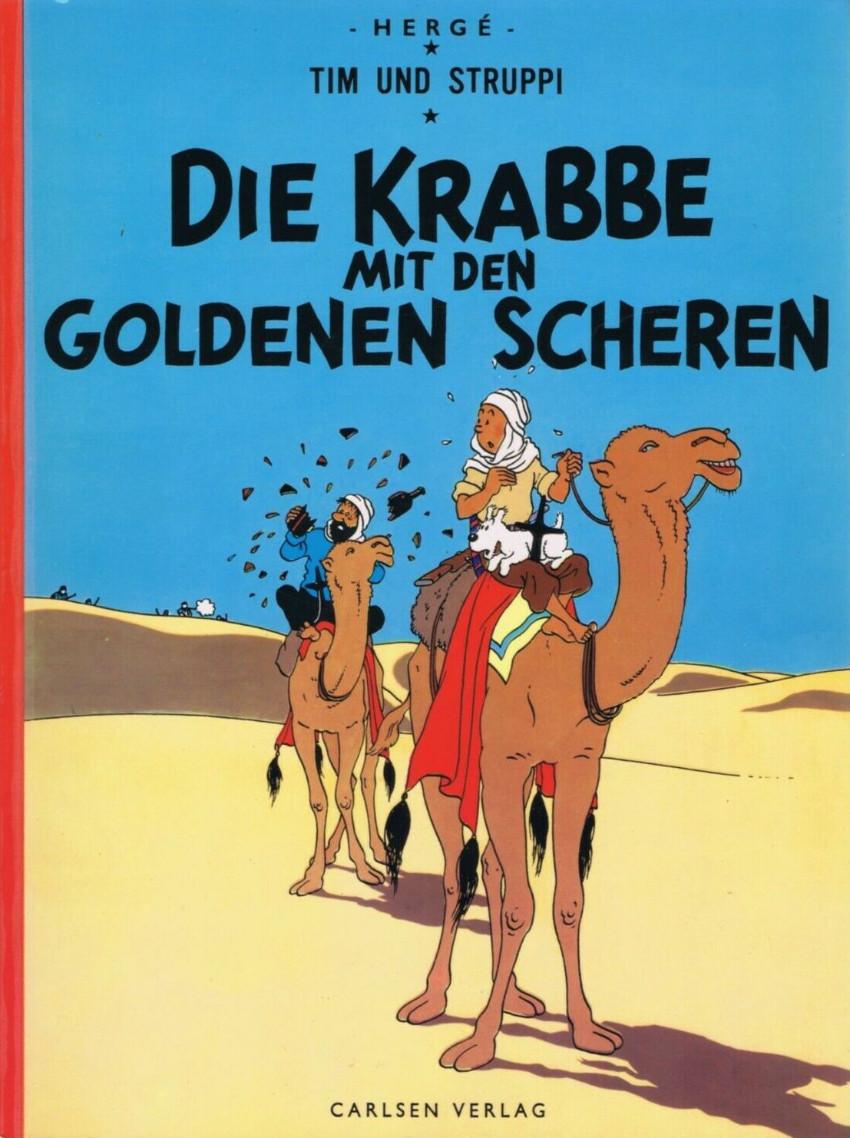 Couverture de Tim und Struppi / Tim, der Pfiffige Reporter -9a1972- Die Krabbe mit den goldenen Scheren