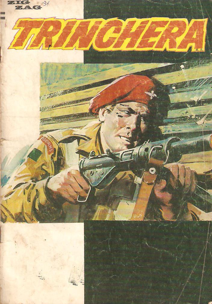 Couverture de Trinchera -34- Número 34
