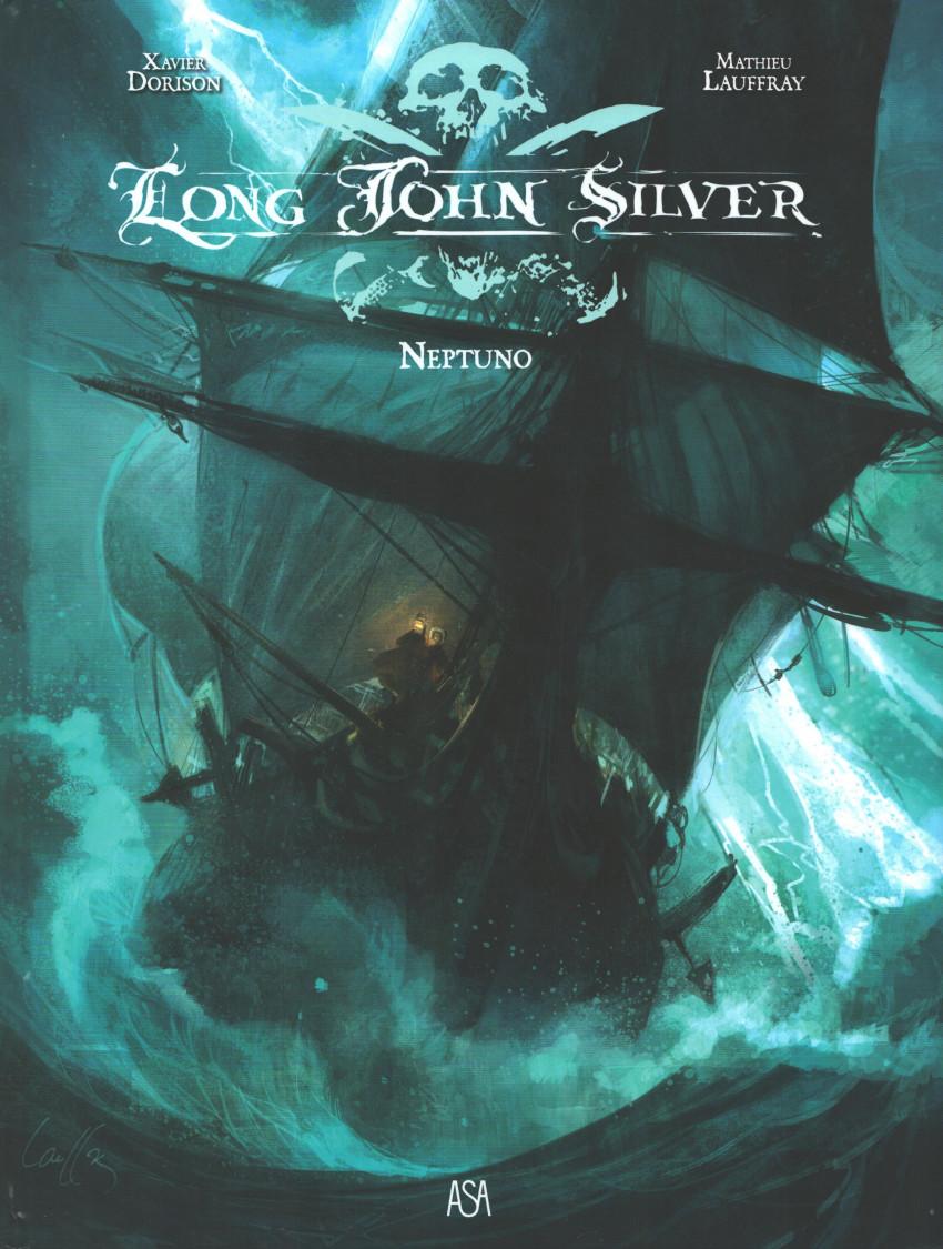 Couverture de Long John Silver (en portugais) -2- Neptuno