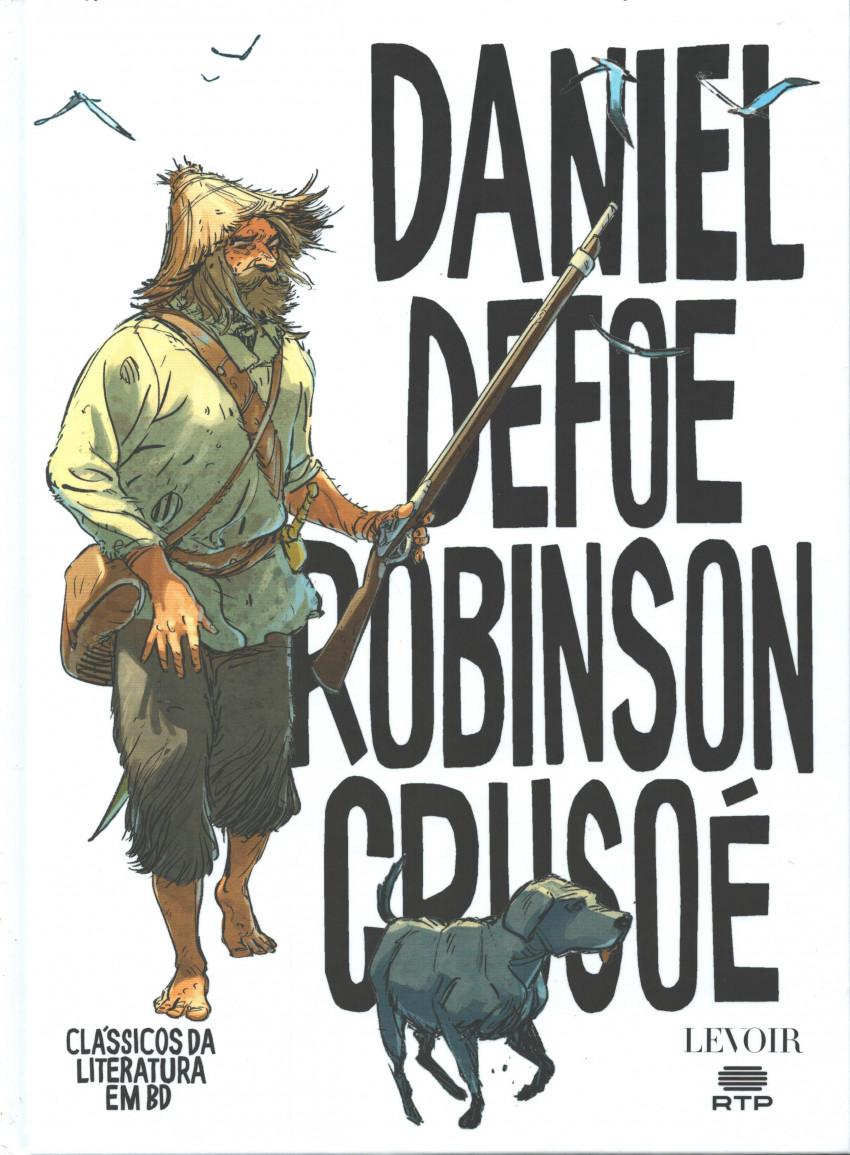 Couverture de Clássicos da Literatura em BD -13- Robinson Crusoé