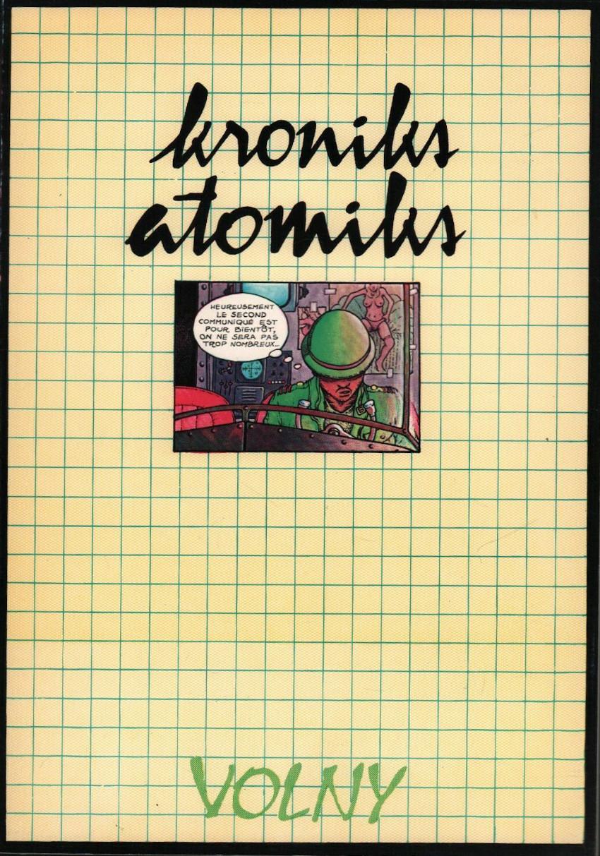 Couverture de Kroniks atomiks
