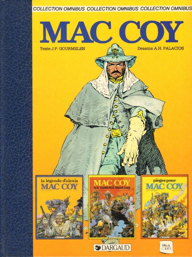 Couverture de Mac Coy -INT1- La légende d'Alexis Mac Coy - Un nommé Mac Coy - Piège pour Mac Coy