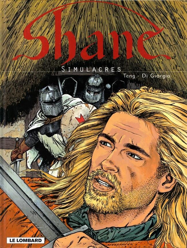 Couverture de Shane -3- Simulacres