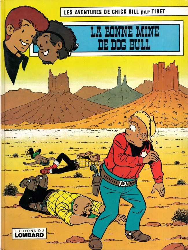 Couverture de Chick Bill -3347- La bonne mine de Dog Bull