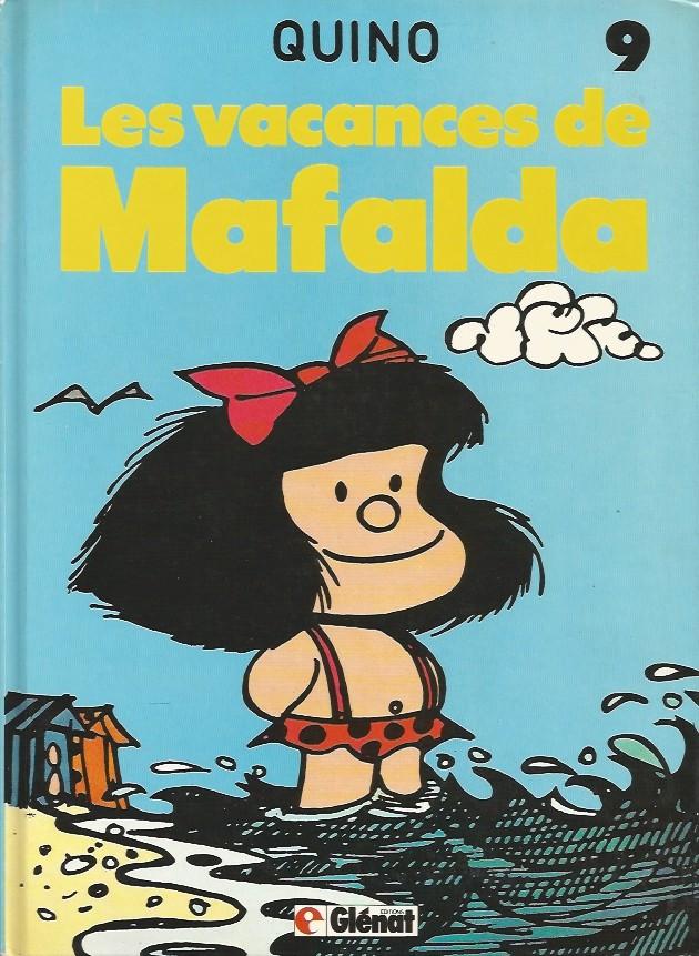 Couverture de Mafalda -9- Les vacances de Mafalda