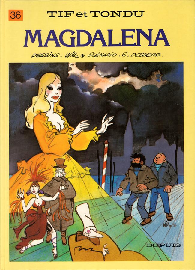 Couverture de Tif et Tondu -36- Magdalena