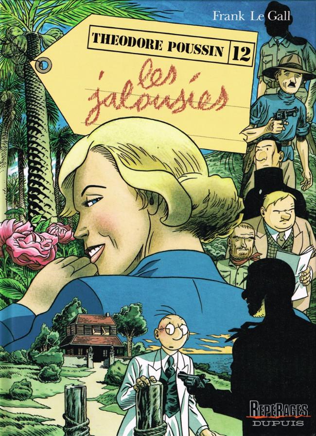 Couverture de Théodore Poussin -12- Les Jalousies