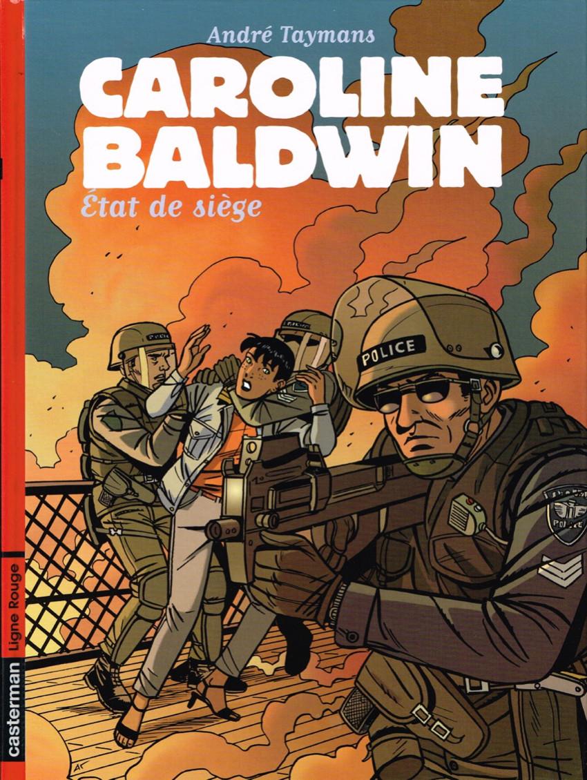 Couverture de Caroline Baldwin -11- État de siège